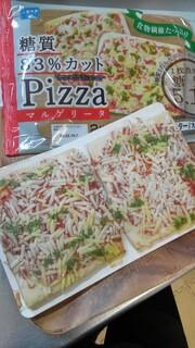 シャトレーゼ - 糖質83%カットのピザ マルゲリータ