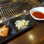 焼肉トザワ - キムチ&ナムル