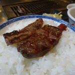 焼肉トザワ - カルビミックス