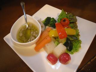 食楽 旨い肴 - バーニャカウダ