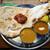 スルターン - 料理写真:2種類のカレーランチセット ¥1,100