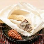 緒方 - 松茸の天ぷら