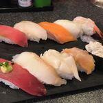 121501491 - お寿司アップ