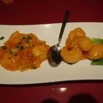 四五六菜館 - エビのマヨネーズとチリソース