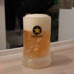 たこ剛 - 生ビール