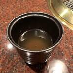 Ushigoro Ginza - トリュフの香り豊かなスープ