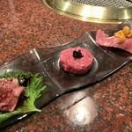 Ushigoro Ginza - 久しぶりに生肉も‼︎
