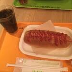 空カフェ - 料理写真:ホットドッグセット