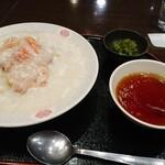 カントニーズレストラン 龍鳳 - 料理写真:海老あんかけチャーハン