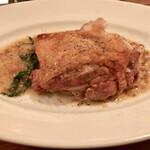 永福町 ichi - 地鶏もも肉のパリパリ焼き