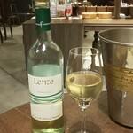 フォカッチェリア ラ ブリアンツァ - 追加の白ワイン