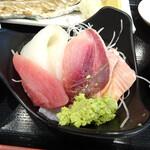 タカマル鮮魚店 - ミニ刺し盛り