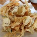 やまびこ - 山芋と野菜のかき揚げ