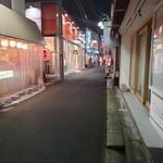 六伍郎 - 野方駅周辺の様子
