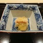 121513586 - 松葉カニ、お酢のジュレ