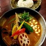 Rojiura Curry SAMURAI. - カキフライ&カレー 1000円