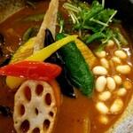 Rojiura Curry SAMURAI. - 野菜アップ