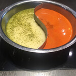 MKレストラン - チゲ2辛 × パクチー