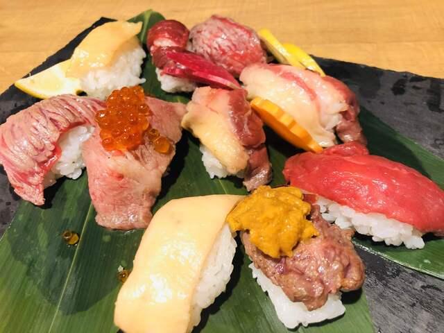 ユッケ 寿司 大阪
