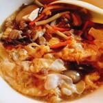 台湾手作り 天香 - 酸辣湯麺①