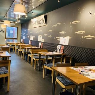 鯖たちが優雅に泳ぐ「サバ族館」