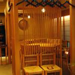 米料理 心米 - 半個室にはテーブル×2