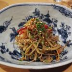 米料理 心米 - 野菜のきんぴら