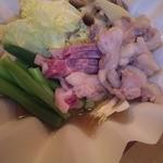 和樂 - 鴨と白菜の紙鍋