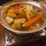 博多ノ飯場なごみ - 蟹と鱈の鍋