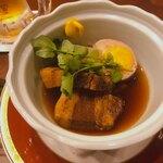 博多ノ飯場なごみ - 豚の角煮は絶品