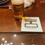 博多ノ飯場なごみ - スタートは瓶ビールが人数分、その後飲み放題メニュー