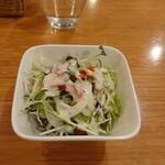 洋食厨房 Country House - 料理写真:まずはサラダ