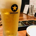 焼肉 ぽんが - 生ビール