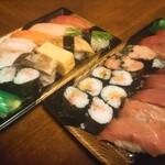 板前寿司 - 選抜にぎりセット+最強本マグロセット