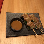 串えん - 水菜を豚ばらで巻いたもの