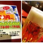 沖縄時間 - ハッピーアワーメニュー、オリオンビール