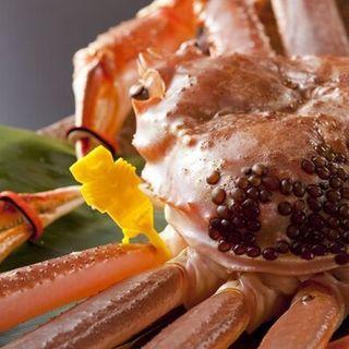 美松自慢の蟹料理をご堪能ください