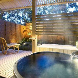 北陸最大級の露天風呂付客室数です