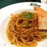 コロッセオ - 松葉ガニのスパゲッティ