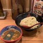 三田製麺所 - つけ麺(味玉)