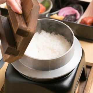 三田農家「ぐんちゃん」釜炊きごはんなど厳選食材を使用