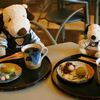 レストラン&ミュージアムショップ ムエール - 料理写真:ボキらは2人とも、信長珈琲セットを注文したよ~カップとお皿がいい感じだよね~美濃焼かな?