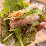 やさい村 大地 - 韓国の定番焼肉サムギョプサル!