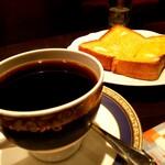 御多福珈琲 - ブレンドとトースト