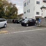 上野製麺所 - 駐車場