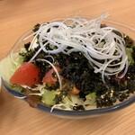 蘭々の湯 - 料理写真:豆腐のチョレギサラダ(¥480)