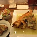 麹町ビストロ 階段の途中 - 鮮魚のアクアパッツア
