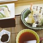 島活 - 天ぷらお刺身