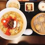 龍香 - 料理写真:サンラータン麺セット