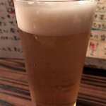 ワイン食堂 イタダキヤ - 生ビールで乾杯